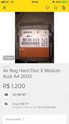 Air bag frontal hard disc mais módulo audi a4 2003