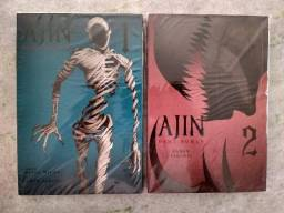 Mangá Ajin Vol. 1 e 2
