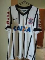 Camisa de futebol Corinthians
