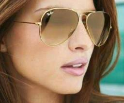 Ray ban aviador original feminino