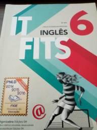 Vende se livros de Inglês 6 ano e 8 ano