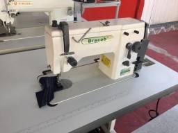 Maquina de costura zigue-zague 20u Bracob semi nova