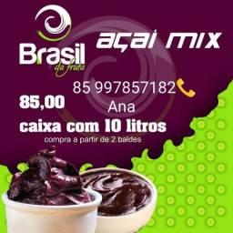 Açaí para revenda! pronto pro consumo,é Brasil da fruta Não forma cristais de gelo