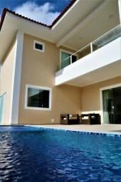 Melhor da ilha - Alphaville - 5 suítes, piscina, ventilada e na parte alta
