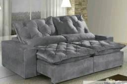 Sofá Retrátil e Reclinável Com Pillow Elegance- Menor Preço do Rj Faça seu pedido