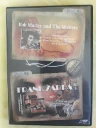 Dvd Bob Marley e Frank Zappa