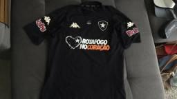 Uniforme Completo De Jogo Do Botafogo Camisa E Calção - Raro 9c82007b3b7ef