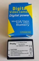 Bateria lpe10 para cameras dslr canon T2 T3 T5 T6 Eos 1100d X50