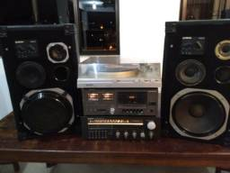 Receiver s126 toca discos tape deck Gradiente