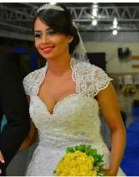 Vestido noiva, Vestido de noiva de manga , Vestido princesa