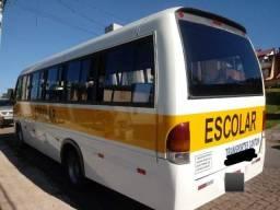 Micro onibus 46 lugares bancada escolar bomba injetora e bicos 120mil km marca bosch - 2006