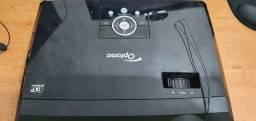 Projetor Optoma TX 610 ST tem que trocar a lâmpada