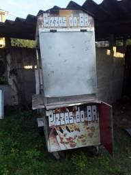 Barraca de pizza completa