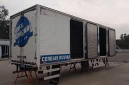 Baú Carga Seca para Truck/Bi-Truck/Beto Caminhões SM