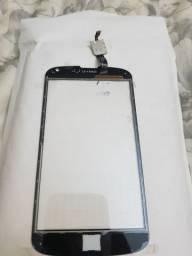 Tela de vidro com Digitador LG Google Nexus 4 E960