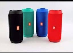 Caixinha de som JBL múltiplas cores