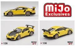 Porsche 911 GT2 RS Racing Yellow - Mini GT 1:64 - Mijo Exclusive