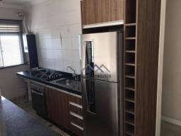 Apartamento com 2 dormitórios para alugar, 49 m² por R$ 1.600,00/mês - Vila Nambi - Jundia