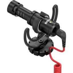 Microfone RODE compacto para Câmera
