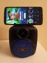 Caixinha de som Bluetooth Mp3 Speaker - Novo