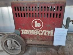 Maquina de solda Bambozi 110/220 volts-Usada