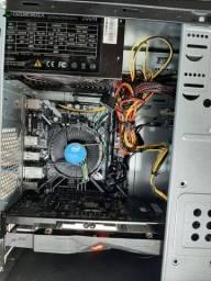 PC gamer core i3 9100f, 16gb ddr4, vga rx470 4gb gddr5, hd 1tb -estudo trocas