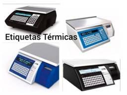 40 rolos de Etiqueta Térmica para Toledo/Prix: padrões 40x40 e 40x30