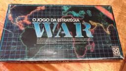Jogo War tabuleiro colecionador guerra estratégia