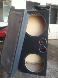 Kit caixa de som alto falnte e tanpao