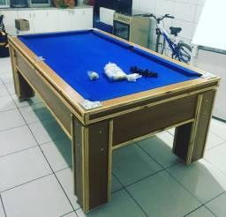 Mesa de sinuca/bilhar semi oficial a preço de fabrica.