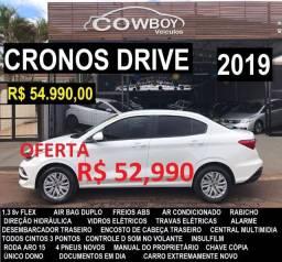Fiat Cronos Drive 1.3 8v 2019 completo