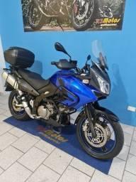 Suzuki V-STROM DL 1.000 cor azul moto top de linha