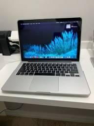 MacBook Pro Retina 2015 - 1TB SSD - 8GB - i5 2,7GHz - 13 Polegadas