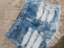 Saia jeans ( usada 1 vez super concervada)