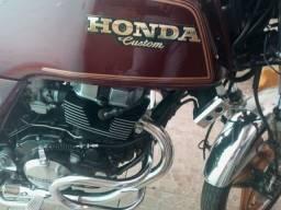 HONDA CB 450 CUSTOM RARIDADE