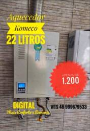 Aquecedor a Gás Digital Komeco