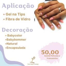 Aplicação de unhas