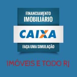 Imóveis em todo estado do Rio - Aprovação de crédito GRÁTIS - 01 ou 02 quartos