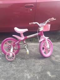 Bicicleta infantil rosa