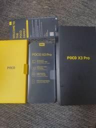 Poco x3 pro BLUE 8gb ram 256 gb ROM novo nunca usado