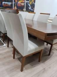 Mesa de madeira sala de jantar