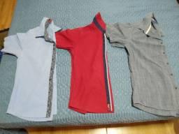 Duas Camisas da BGT e uma da pool