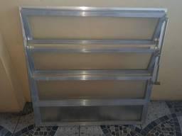Basculante de aluminio 80 x 80