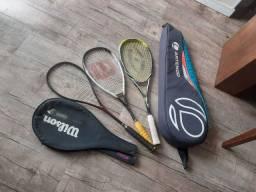 Raquete de squash promoção
