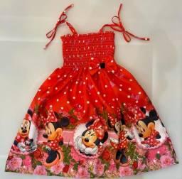Vestido mini vermelha
