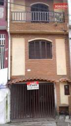 Sobrado residencial à venda, Vila Oratório, Mauá.