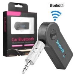 Adaptador Receptor Bluetooth Usb Musica P2 Chamada Som Carro
