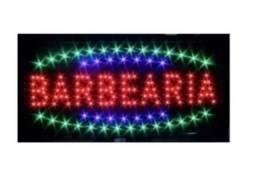 "Placa Led ""Barbearia"" 110v"