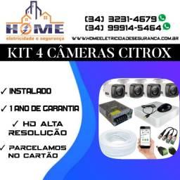 Câmeras de segurança Citrox  *