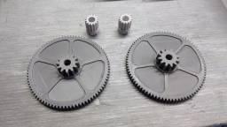 Impressão 3D peças mecânicas, engrenagem, etc.